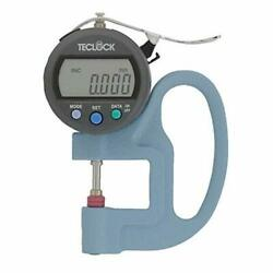 Teclock Smd565jl Digital Thickness Gauge Measuring/0-12mm Ems W/ Tracking New