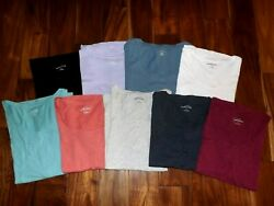 EDDIE BAUER Womens New Rounded Neck Tee Shirt Various Colors S M L XL XXL XXXL $12.95