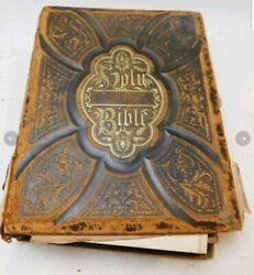 Holy Bible 1869 Comprehensive And Illustrative History Of The New And Old Testament