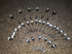 Holmes And Edwards Set Of 30 Silverplate Spoons 3 Different Sizes