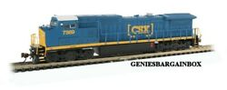N Scale Csx Ge Dash 8-40cw Dcc And Sound Equipped Bachmann 67353