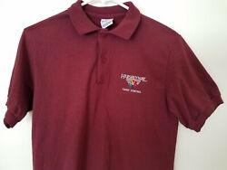 Vintage Hersheypark Employee Cash Control Shirt Embroidered Logo 90's Small
