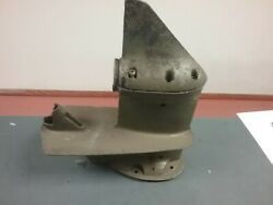Lower Unit Housing From A 20 Or 25 Hp Johnson Outboard Motor 1970's.