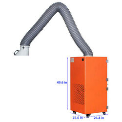 220v Portable Welding Fume Extractor Mobile Unit 1800m³/h Airflow. Arm/normally