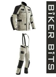 Rst Pro Series X-raid Magnesium Ripstop Textile Motorcycle Jacket/trousers