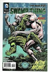 Dc Comics, Swampthing, Issue 10, Direct Sales, 2012, 9.6, Near Mint Condition,