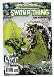 Dc Comics, Swampthing, Issue 14, Direct Sales, 2012, 9.6, Near Mint Condition,