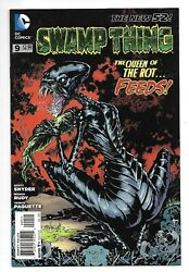 Dc Comics, Swampthing, Issue 9, Direct Sales, 2012, 9.6, Near Mint Condition,
