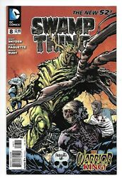 Dc Comics, Swampthing, Issue 8, Direct Sales, 2012, 9.6, Near Mint Condition,