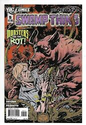 Dc Comics, Swampthing, Issue 5, Direct Sales, 2012, 9.6, Near Mint Condition,
