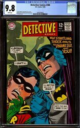 Detective Comics 380...cgc 9.8 Nm/m White Pages...highest Graded