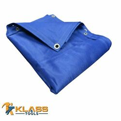 Heavy Duty Blue Shade Mesh Tarp Comes In 69 Different Sizes By Klasstools