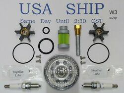 Service Kit With Spark Plugs For Westerbeke Marine 3.0bcg 3.5sbcg 50hz 60hz