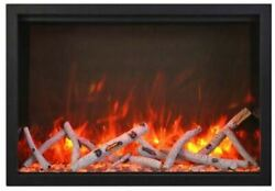 Amantii 48and039and039 Wide Traditional Series Electric Fireplace