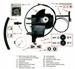 Omc Cobra Conversion Kit Inboard 1986-93 To Mercruiser Lower And Upper Unit