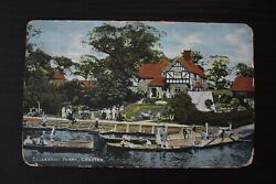Vintage Postcard Eccleston Ferry Chester Cheshire Unposted