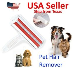 Reusable Pet Hair Remover Couches Clothes Lint Cleaning Cat amp; Dog Fur Roller