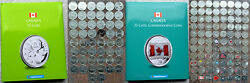 19672020 Canada 138 X 25andcent Quarters Collection In 2 Premium Quality Albums