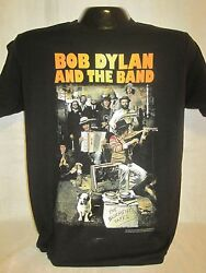 Bob Dylan And The Band T-shirt Tee Rock Band Music Basement Tapes New 01