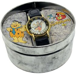 1994 Waltham The Flinstones No 97 136 Watch Fred Flinstone With Metal Boxes