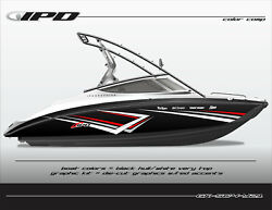 Ipd Boat Graphic Kit For Yamaha Sx190 Sx192 Ar190 And Ar192 Sc4 Design