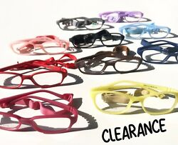 Kids Glasses Frames w Strap Boys Girls Eyewear Eyeglasses Flexible 47 16 115 $17.99