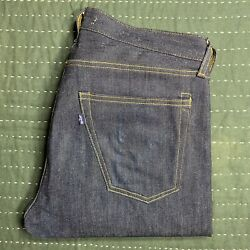 Levis Made & Crafted Thumbtack 33 x 34 Rare Button Fly Cone Denim 511