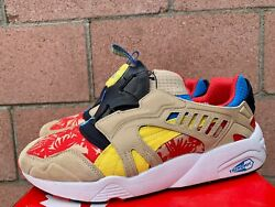 Puma Disc Cage Tropical Shoes Size 10 Men's Pre-Owned