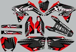 Graphic Kit For Honda Cr125 Cr 125 1998-1999 Decal Stickers Dirt Bike Lines