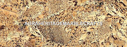 Graphic Feldsper Marble Dining Top Table Inlay Stone Arts Occasional Decor H5604