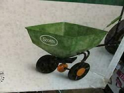 Vintage Old Stock Broadcast Tractor Riding Lawn Mower Spreader 750202