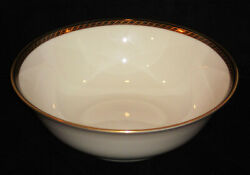 Discontinued Lenox China Tyler Pattern Round Vegetable Bowl 9 Diameter New