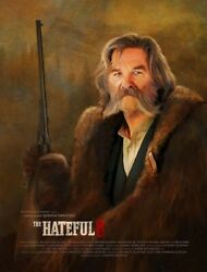 Nycc Rare 6/10 The Hateful Eight 8 Giclee Print Poster The Hangman Ruth/russel