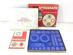 Vintage Kenner Spirograph Set 401 From 1967 Missing Ball Point Pens 6317