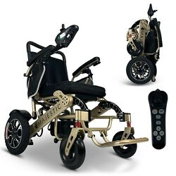 2021 Fold And Travel 19'' Luxury Designed Electric Wheelchair