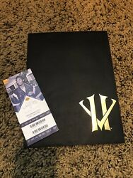 Authentic Kobe Bryant Retirement Letter Sealed Basketball Final Farewell Game