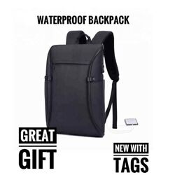 Waterproof Stylish Backpack Business Travel College Daily Backpack Unisex $19.99