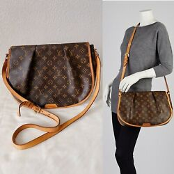 👜Authentic LOUIS VUITTON Menilmontant MM Monogram Crossbody Messenger Bag $1650