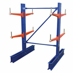 New Cantilever Rack Md Double Sided Unit 6and039h X 24 Arms 11000 Lb Cap