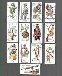 Cigarette Cards. Geo.dobie Tobacco. Weapons Of All Ages.1924.full Set Of 25.