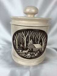 Vintage Lidded Hersheyandrsquos Chocolate Mold 1978 Cookie Jar Canister Rare Nice