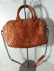 BIMBA &  LOLA HANDBAG PURSE  TAN BROWN $154.99