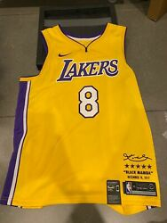 Lakers Kobe Bryant Retirement Nike Boxed Limited Edition Jersey - Xxl 8 In Hand
