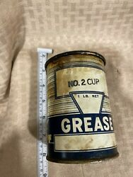 Vintage Really Cool Grease Can