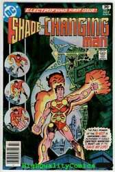 Shade 1, Vf+/nm, Steve Ditko, 1977, 1st Apperance, The Changing Man