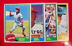 1981 Topps Vint. Common Baseball Cards Complete Your Set U Pick 1 Or More