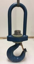 Crosby Crane Insulated Rigging Swivel Hook 1 Quality Product 6 Ton Lmhe Is12000