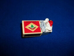 Hallmark 1979 Matchless Christmas Keepsake Ornament Mouse Little Trimmers QX1327