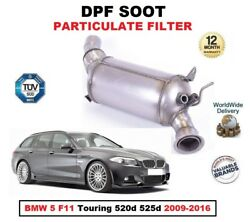 Dpf Diesel Soot Particulate Filter For Bmw 5 F11 Touring 520d 525d 2009-2016 Est
