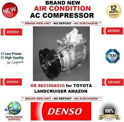Denso Air Conditioning Ac Compressor Eo 883106a010 For Toyota Landcruiser